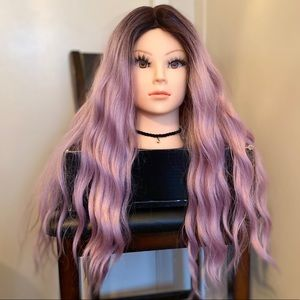Purple Ombré Lace Front Wig